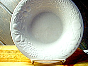 Gibson Flourish Coupe Soup Bowl