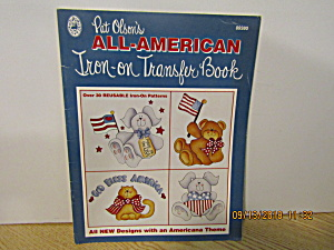Grace Publications All American Iron-on Transfers #9380