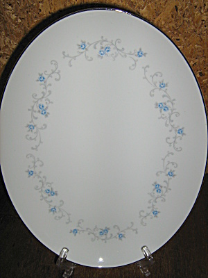 Granada Rose China Oval Serving Platter