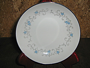 Granada Rose China 8in. Luncheon Plate