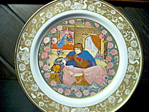Franklin Grimm's Tales Sleeping Beauty Plate