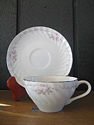 Gst-1 Cup And Saucer Set By Gold Standard