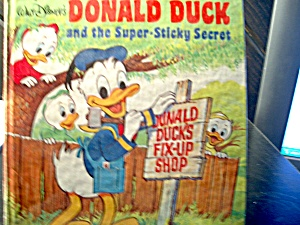 Donald Duck And The Super-sticky Sectet
