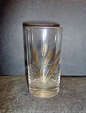 Vintage Homer Laughlin Wheat 4oz. Juice Glass