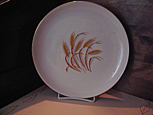 Vintage Homer Laughlin Golden Wheat Luncheon Plate