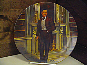 Gone With The Wind First Edition Plate Rhett