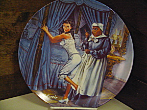 Gone With The Wind Plate Mammy Lacing Scarlett