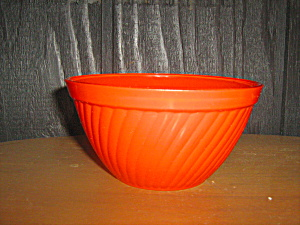 Anchor Hocking Rainbow Tangerine Cereal Bowl