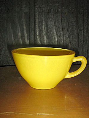 Anchor Hocking Rainbow Bright Yellow Coffee/tea Cup