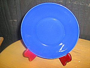 Anchor Hocking Rainbow Blue Bread/dessert Plate