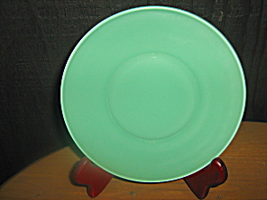 Anchor Hocking Rainbow Green Bread Plate