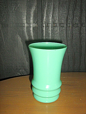 Anchor Hocking Rainbow Green Juice Glass