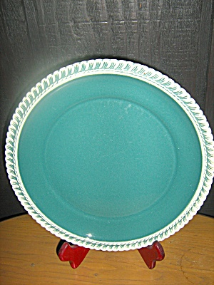 Harkerware Celadon Green Luncheon Plate