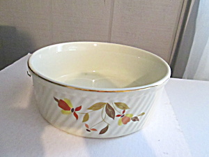 Vintage Hall Jewel Tea Autumn Leaf Casserole Dish
