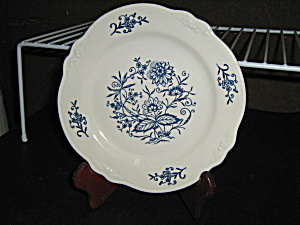 Homer Laughlin Imperial Blue Bread/salad Plate
