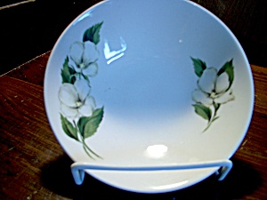 Homer Laughlin White Flower Bread And Butter Plate
