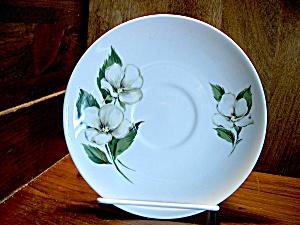 Homer Laughlin White Flower Saucer & Homer Laughlin - Antique China Antique Dinnerware Vintage China ...