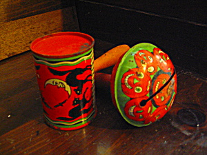 Vintage Halloween Tin Noise Makers