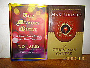 Book Set A Christmas Candle & The Memory Quilt