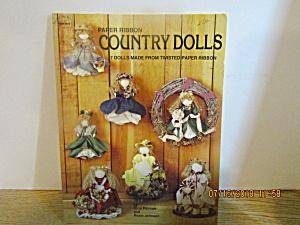Hot Off The Press Paper Ribbon Country Dolls #319