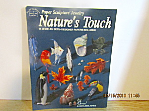 Hotp Paper Sculpture Jewelry Natures Touch # 155