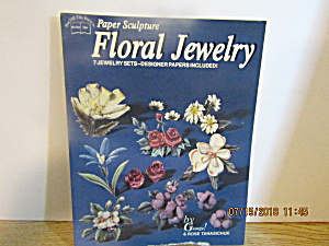 Hotp Paper Sculpture Floral Jewelry # 156
