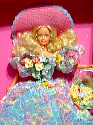 Enchanted Seasons Spring Bouquet Barbie