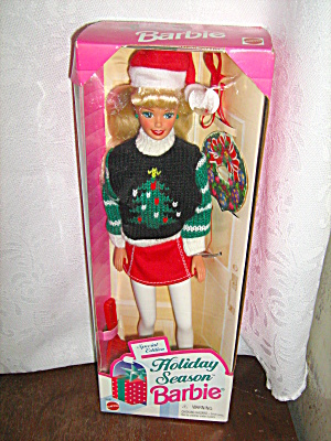 Holiday Season Mattel Barbie 1996