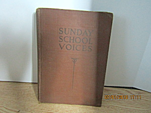 Vintage Hymn Book Sunday School Voices