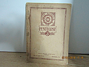 Vintage Hymn Book New Songs Of Pentecost #3