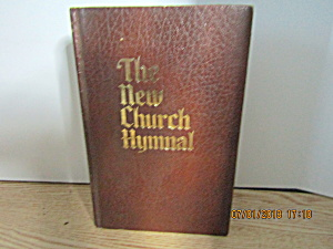 Vintage Hymn Book The New Church Hymnal