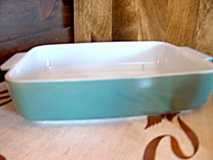 Vintage Pyrex 9 In. Baker Blue Horizon