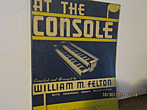 Vintage At The Console Hammond Music Book