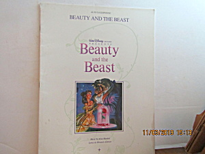 Music Book Beauty And The Beast For Alto-sax