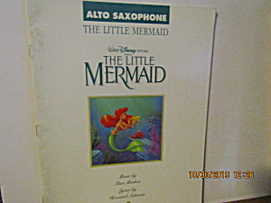Music Book The Little Mermaid For Alto-sax