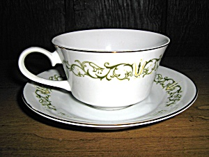 Japan Fine China Bell Flower Cup And Saucer Set