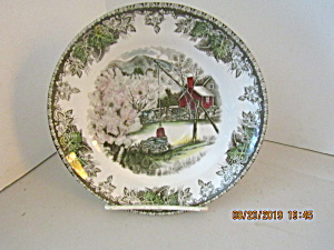 Vintage Johnson Bros Friendly Village Oversize Saucer