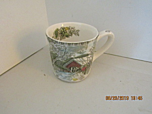 Vintage Johnson Bros Friendly Village Coffee Cup