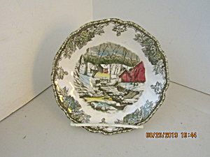 Vintage Johnson Bros Friendly Village Saucer