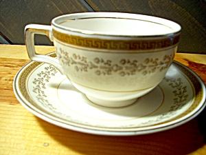 Johnson Bros Pareek #jb189 Cup/saucer Set & Johnson Brothers - Antique China Antique Dinnerware Vintage China ...
