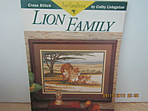 Just Cross Stitch Craft Book Lion Family #191
