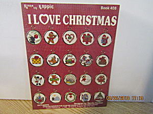 Kappie Originals Craft Book I Love Christmas #408