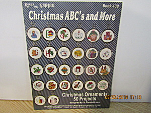 Kappie Originals Book Christmas Abc's And More #409