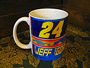 Collectible Coffee Cup Hendrick Nascar Jeff Gorden