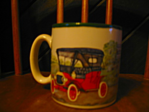 Burton Antique Auto Collection Coffee Mug