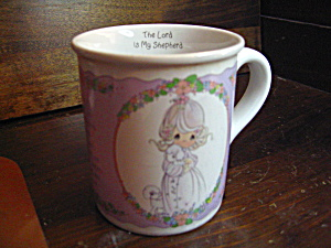 Collectible Precious Momentsthe Lord Is My Shepherd Mug