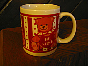 Collectible Coffee Cup Be Mine Valentine Mug