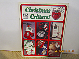 Kd Artistry Craft Book Christmas Critters #102