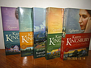 Book Set Redemption Series By Karen Kingsbury