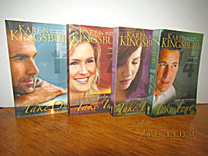 Book Set Above The Line Series By Karen Kingsbury
